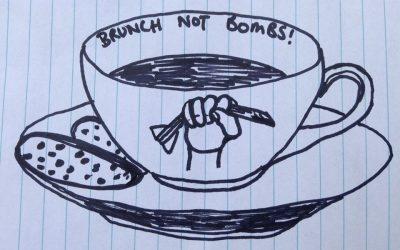 Brunch Not Bombs #Closepinegap