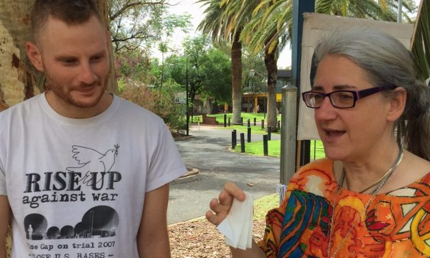 Trial Day Two – We went to break the denial most Australians live in when it comes to this US base in the middle of our country